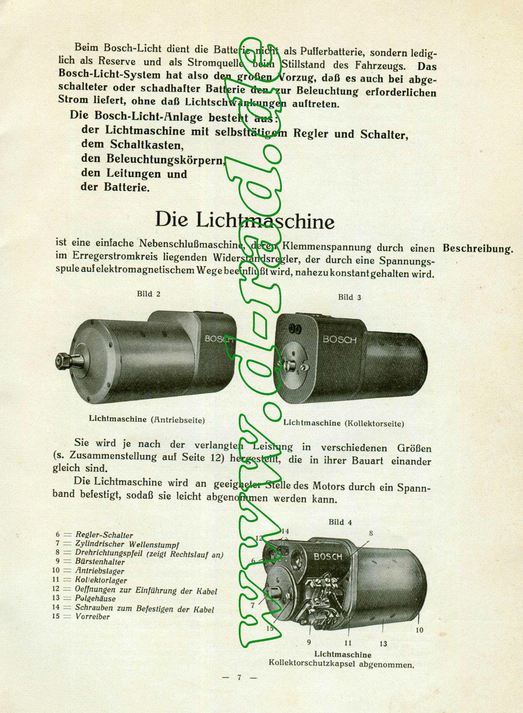 Bosch-Licht und Anlasser - D-Rad.de